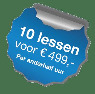 10 Lessen Rijschool RVI Almere